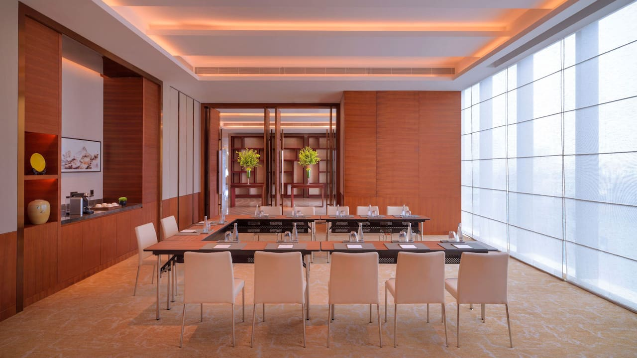 Hyatt Regency Zhenjiang meeting room
