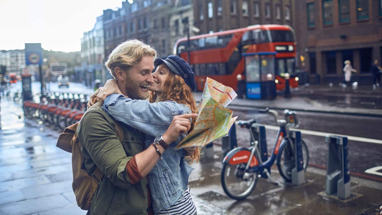 East London couple tourists  | Andaz London Liverpool Street
