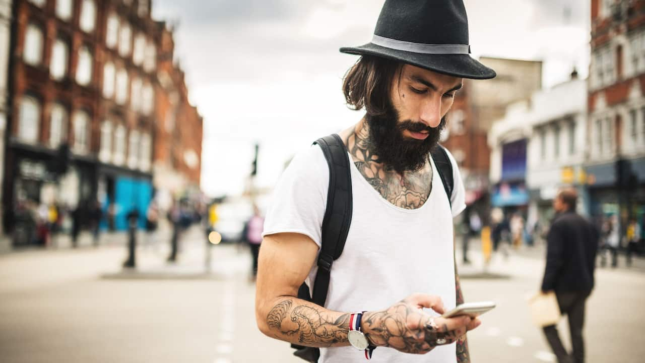 Hipster man | Andaz London Liverpool Street