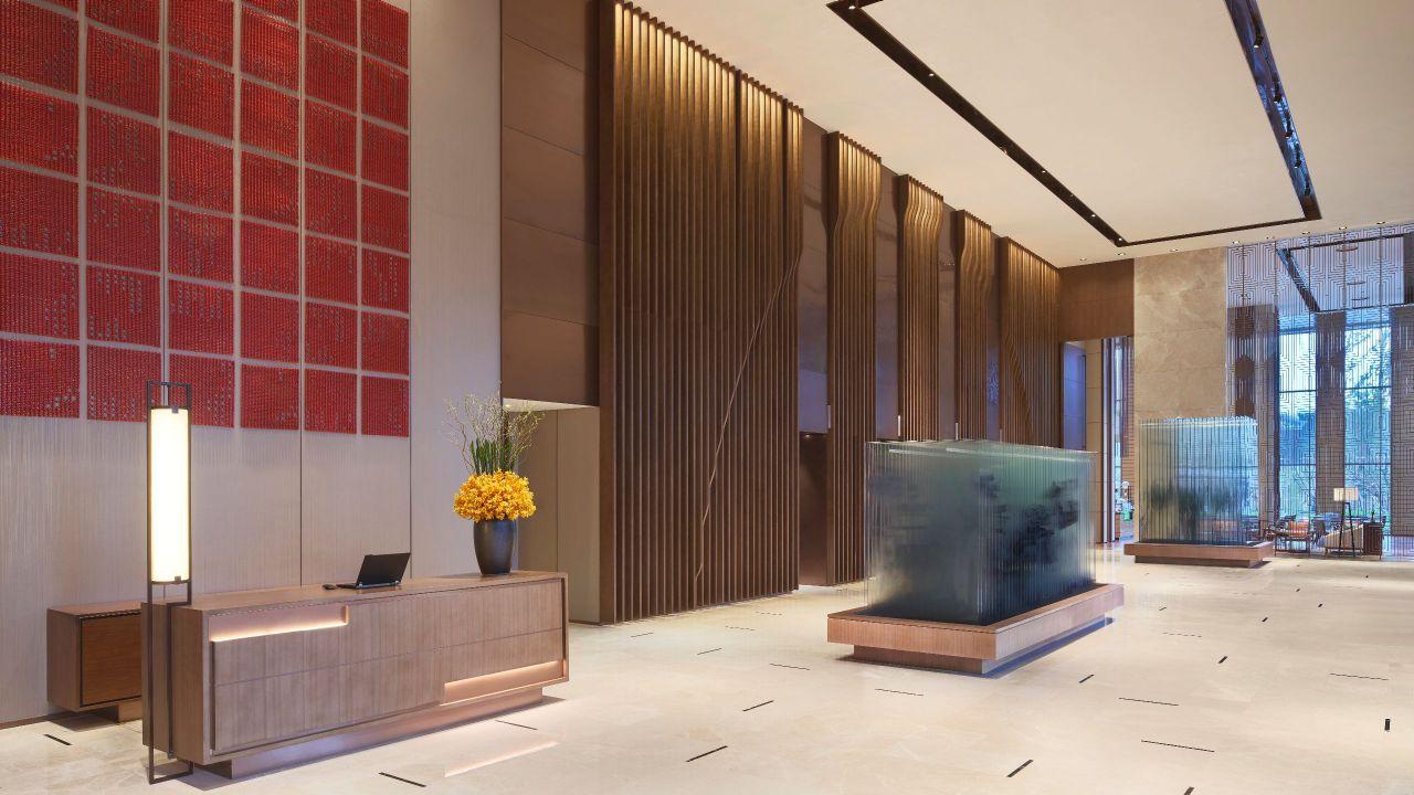 Hyatt Regency Shanghai Jiading hotel entrance