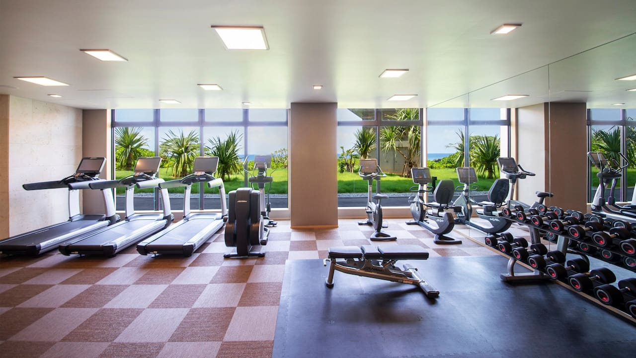Hyatt Regency Seragaki Island Okinawa Fitness Center