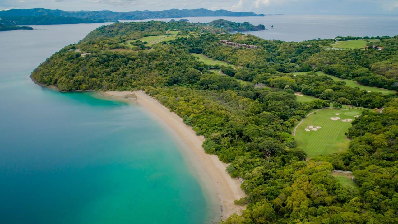 Beach House Aerial Peninsula