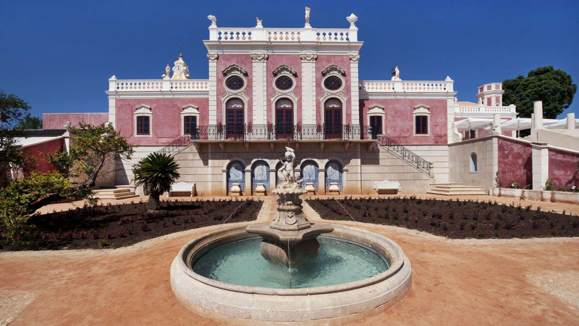 Pousada Palacio de Estoi Exterior Front View