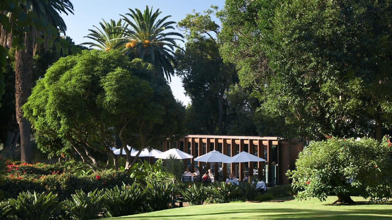Garden Pavilion Restaurant Terrace