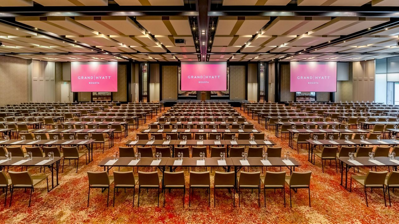 Grand Hyatt Bogota Grand Ballroom