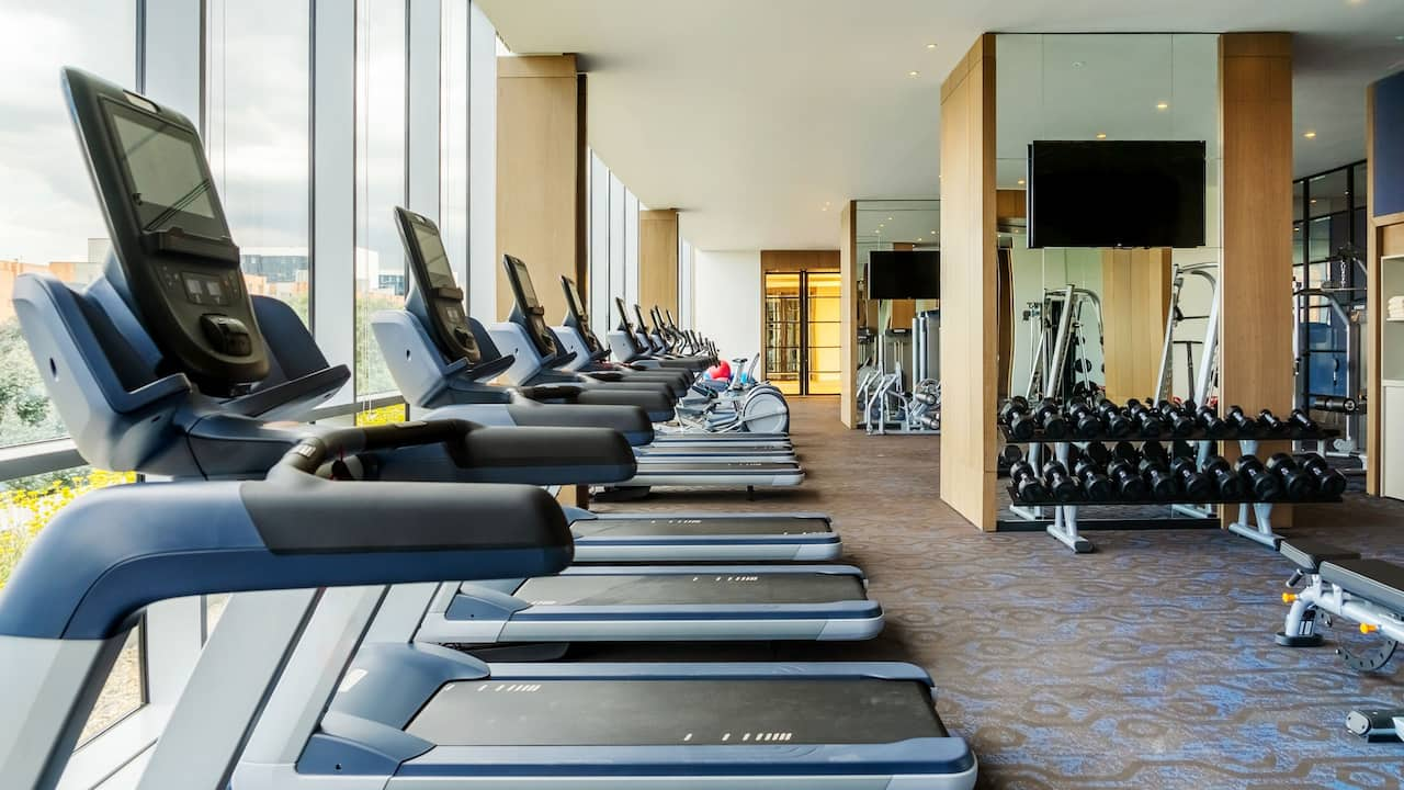 Grand Hyatt Bogota Fitness Room