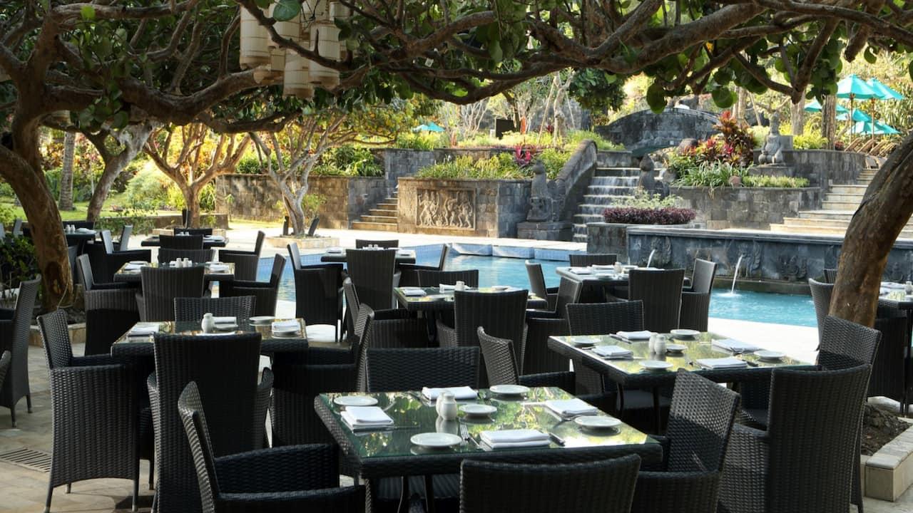 Kemangi Poolside Restaurant Hyatt Regency Yogyakarta