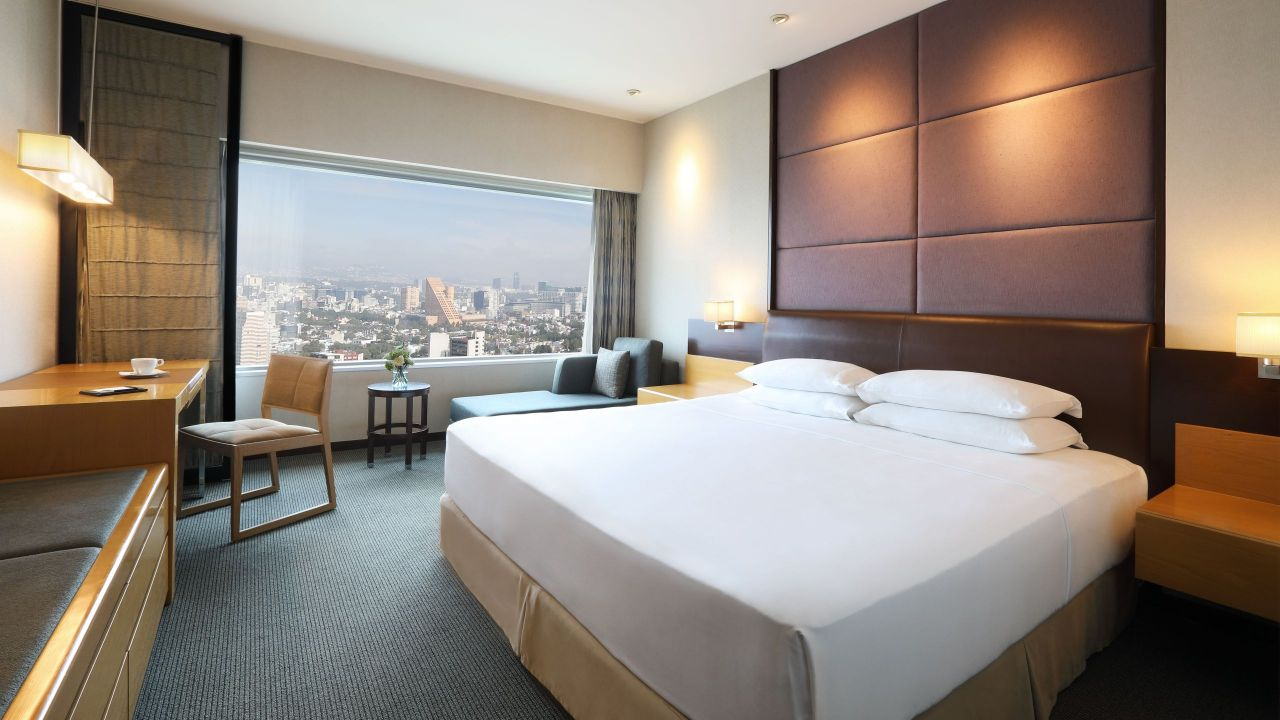 Mexico City King Bed ADA Shower