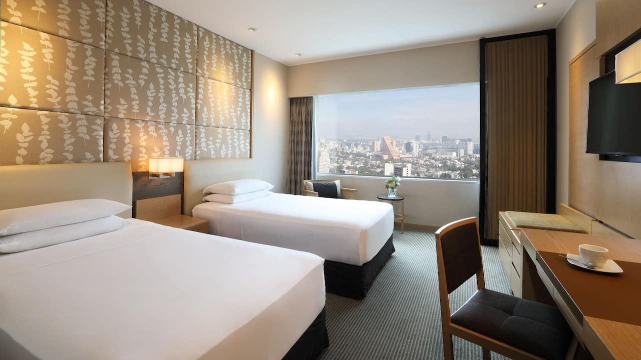 Hyatt Regency Mexico City Twin Room
