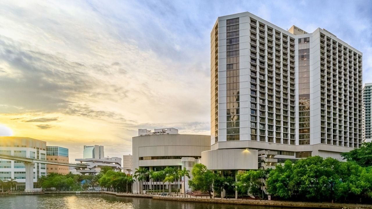 Hyatt  Regency Miami exterior view