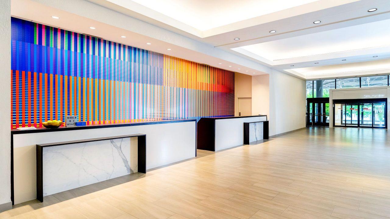 Hyatt Regency Miami front lobby