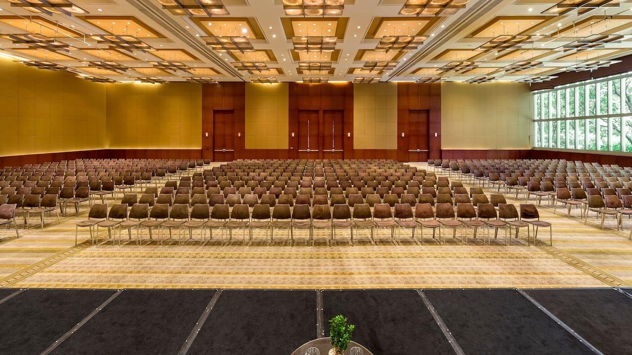 Event Room U Shape Setup