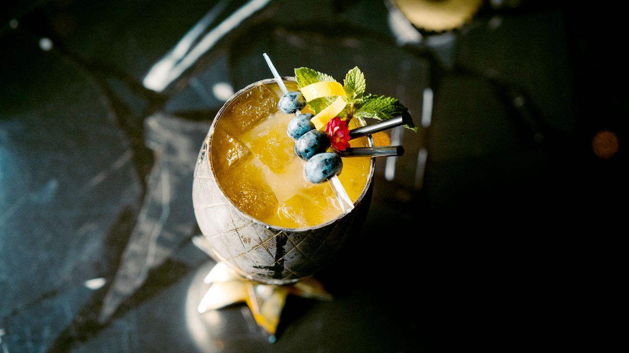 Golden Colada at Jamboree Bar at Grand Hyatt Berlin