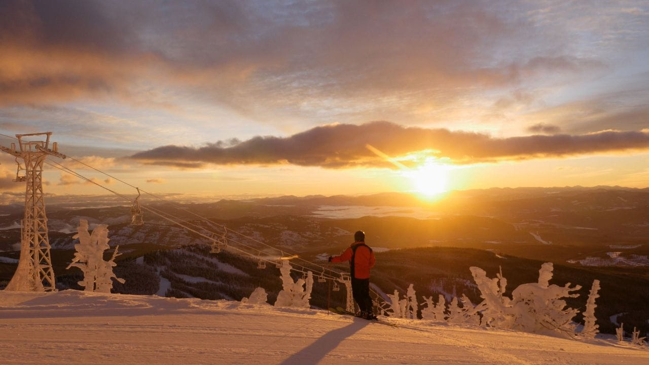 Baldy Mountain Ski Resort Sunrise