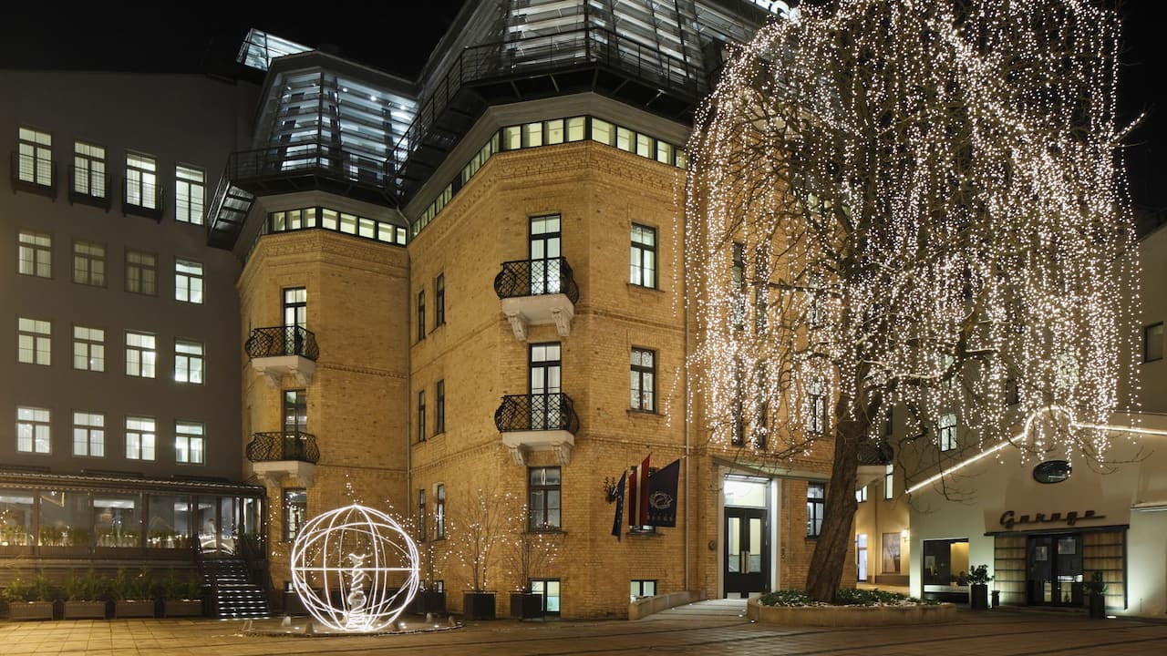 Hotel Bergs Facade