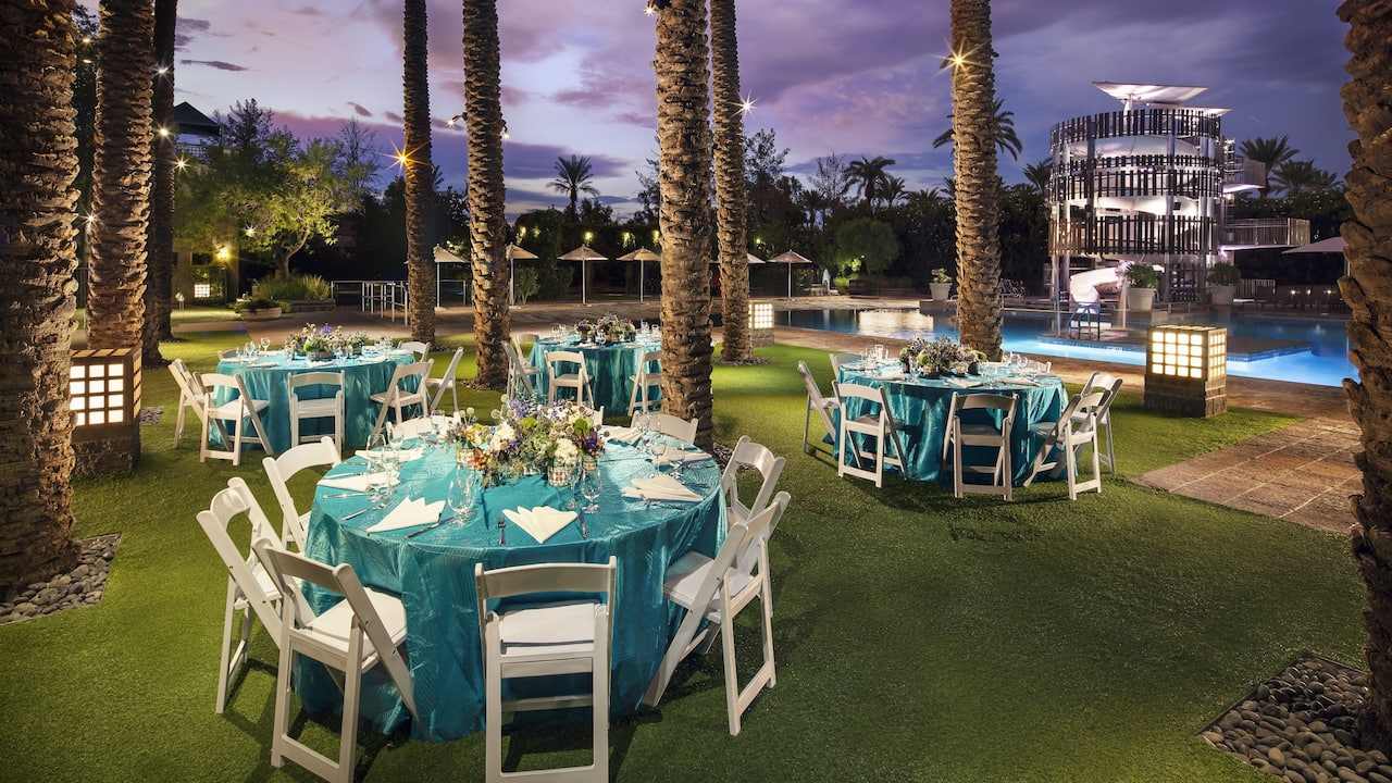 Poolside Event Space