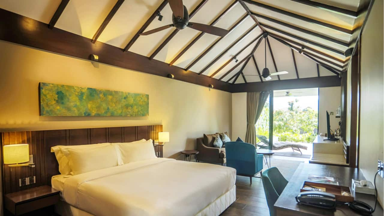 Amani Villa Bedroom