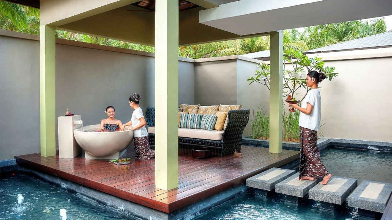 Mangala Resort and Spa treatment