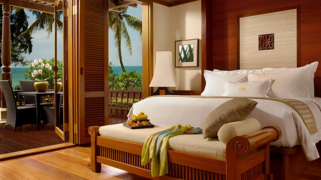 Tanjong Jara resort Serambi room