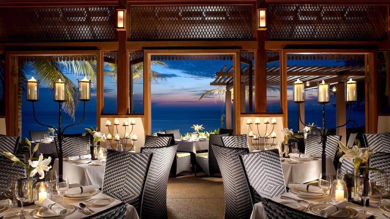 Tanjong Jara resort Nelayan restaurant