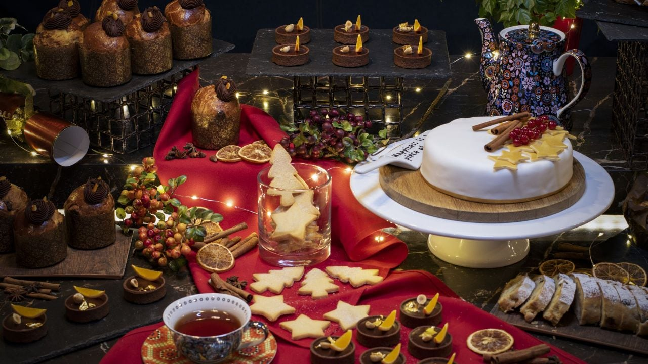 Andaz London Liverpool Street Christmas buffet