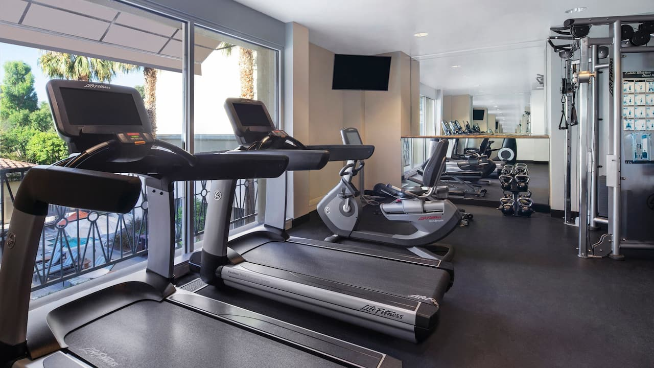 Hyatt Regency Valencia Hotel Fitness Center Photo
