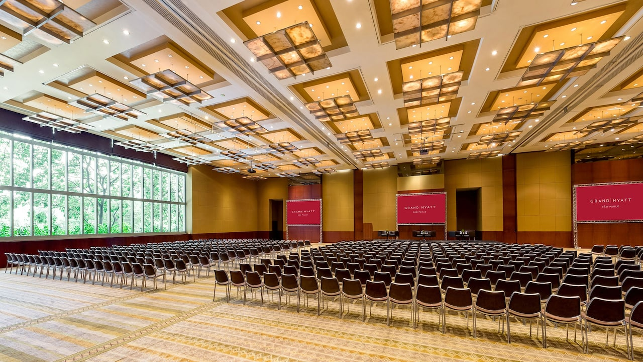Grand Ballroom Auditorium Panoramic View