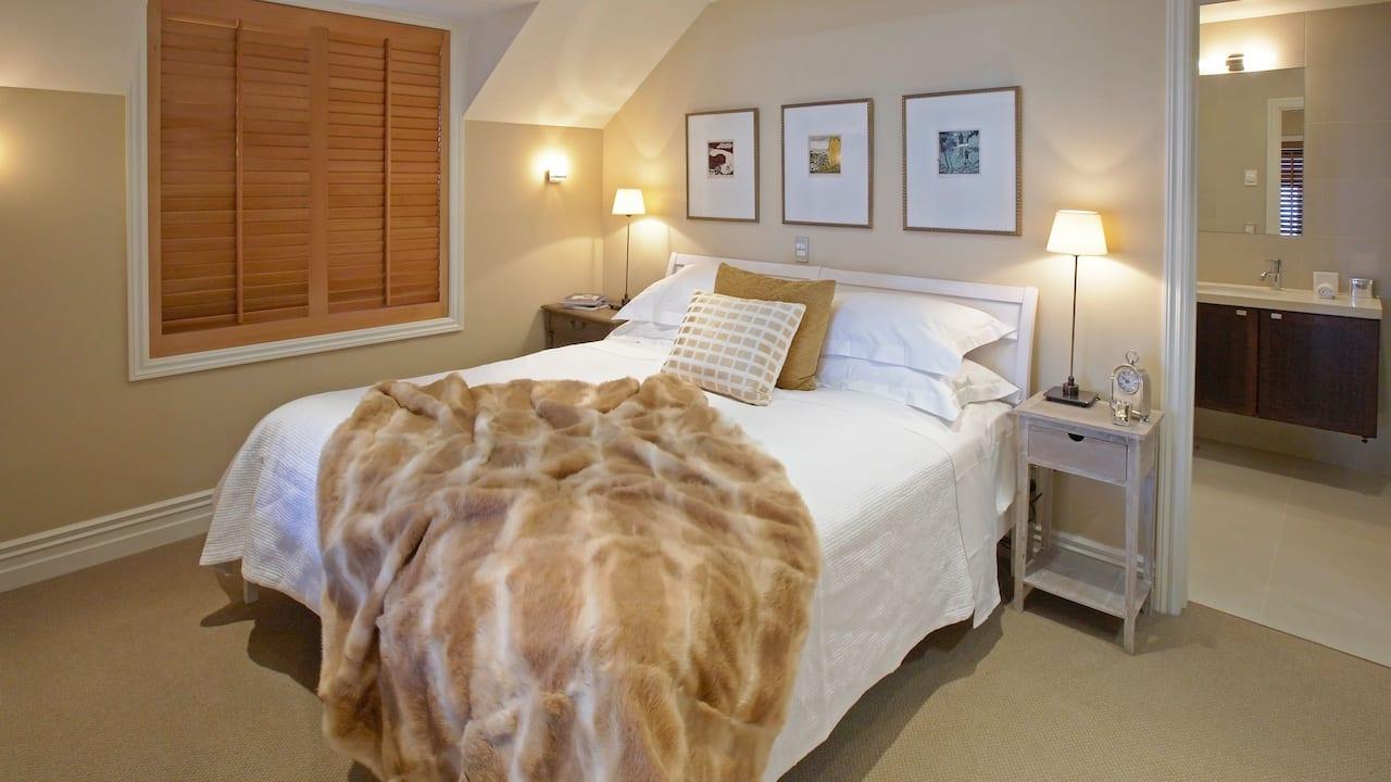 Lakefront Cottage Master Bedroom