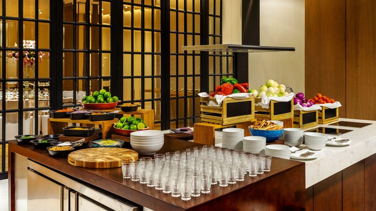 Grand Hyatt Bogota Loft Kitchen