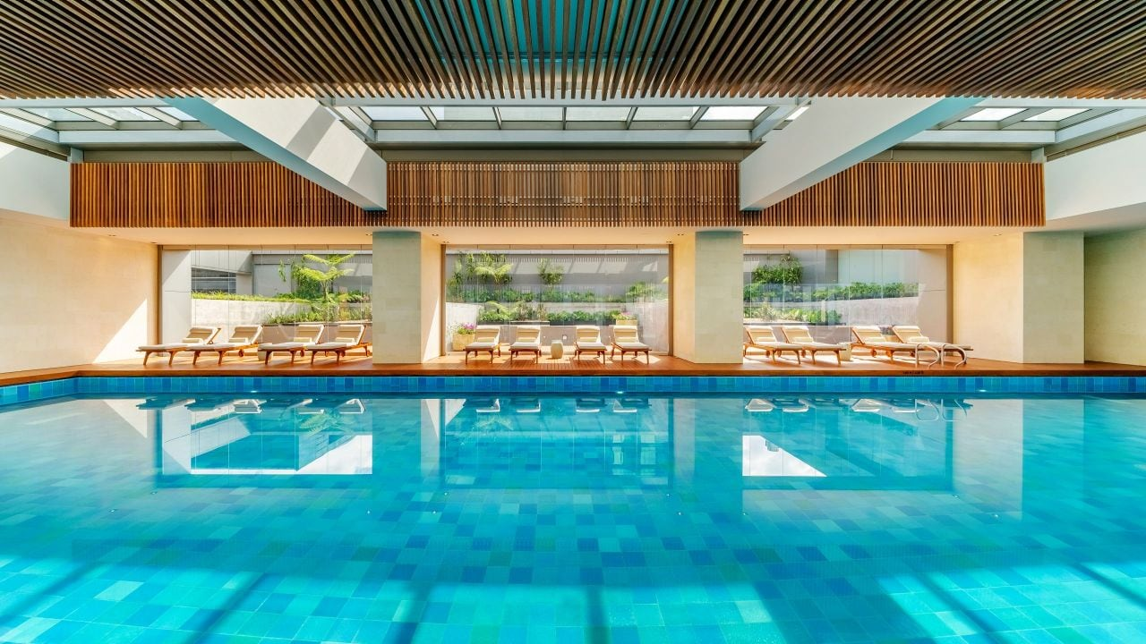 Grand Hyatt Bogota Pool Deck