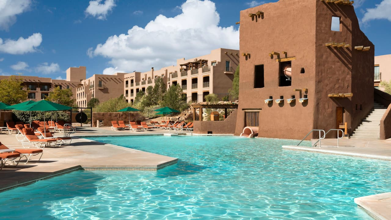 Hyatt Regency Tamaya Resort & Spa Pool West Plaza