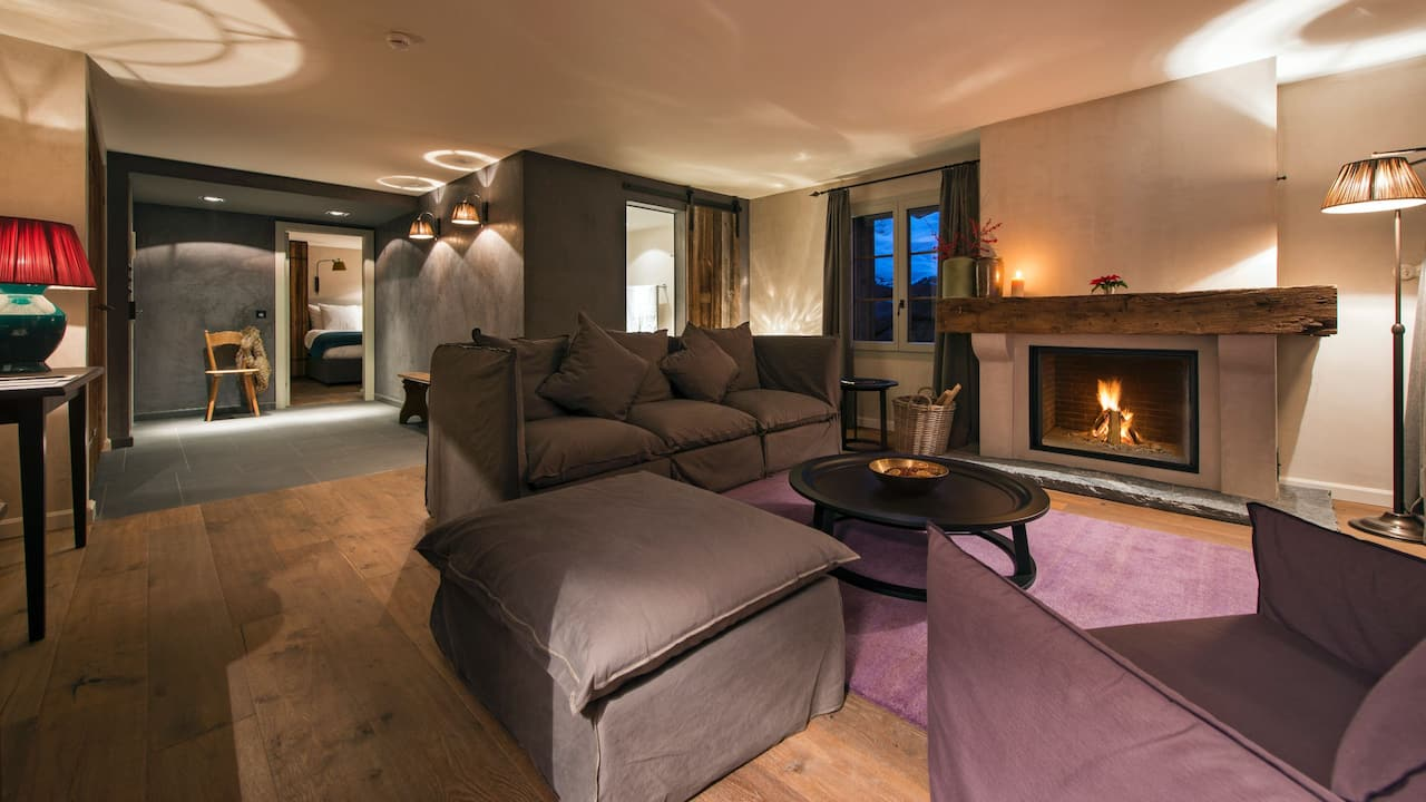 Prestige Suite Living Area