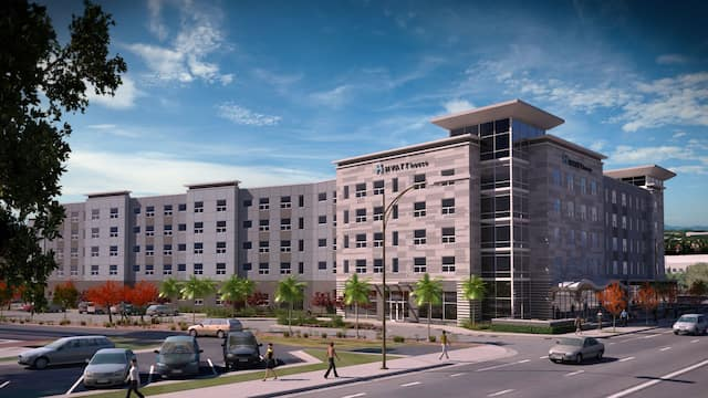 Rendering of Hyatt House San Jose exterior