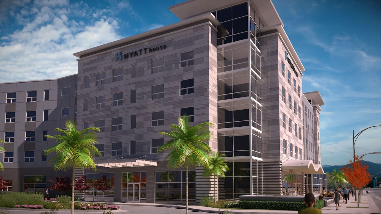 Exterior Rendering Right Side