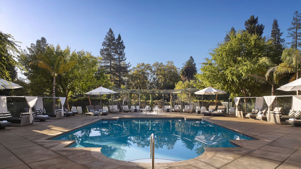hyatt regency sonoma wine country pool