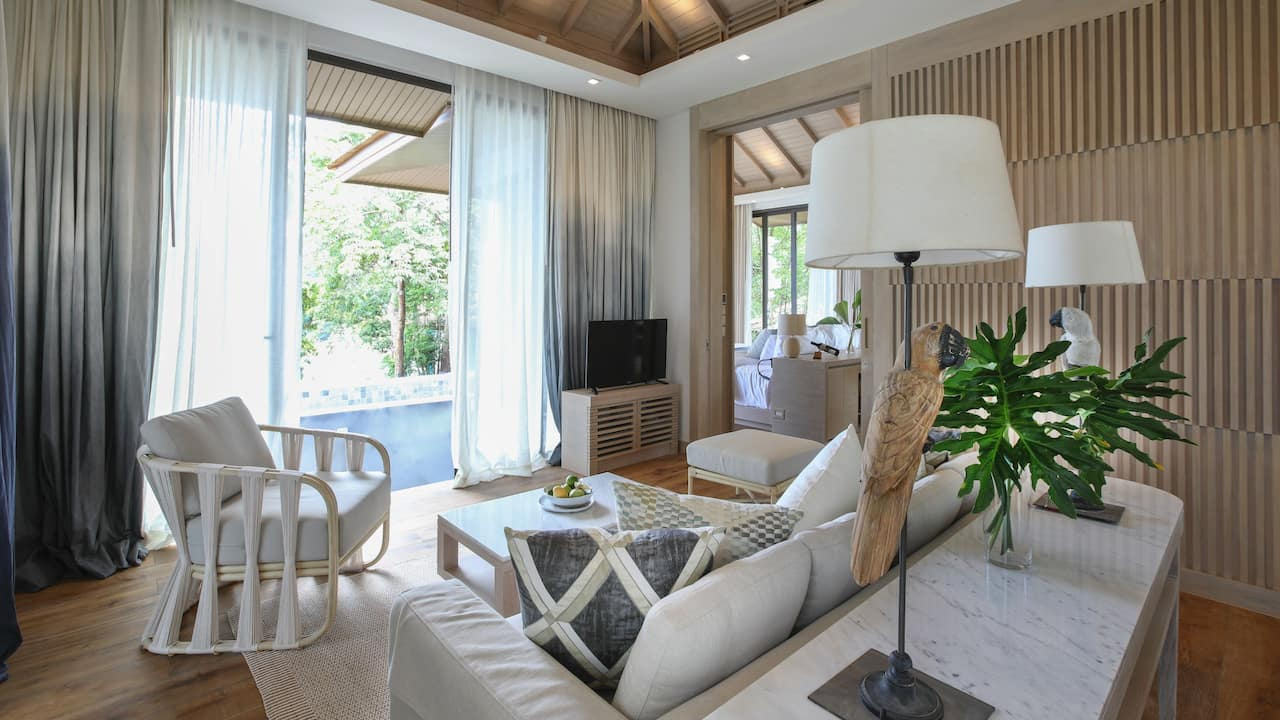 Tropical Two Bedroom Pool Villa