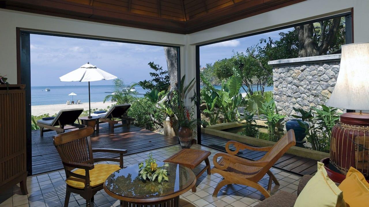 Pavilion Suite- Living Room