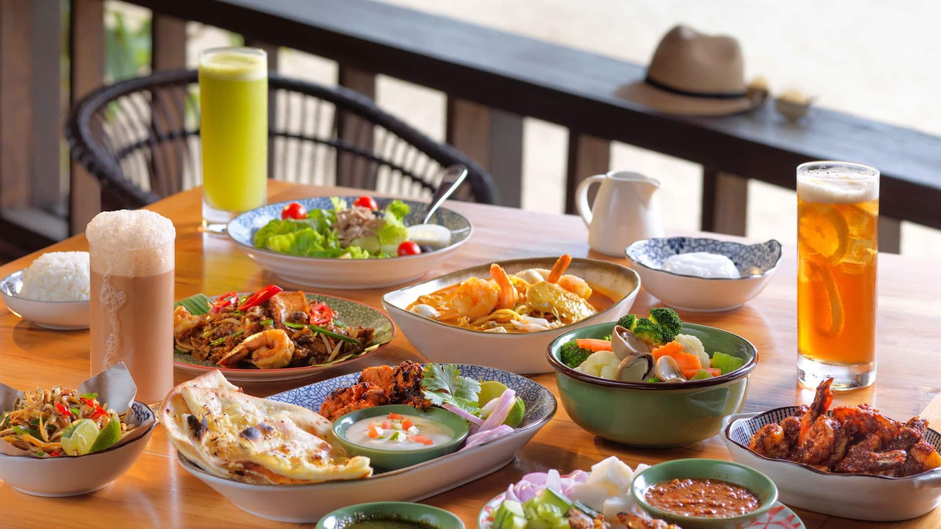 Local Dish, Best Kampung Food Restaurant in Hyatt Regency Resort, Kuantan Malaysia