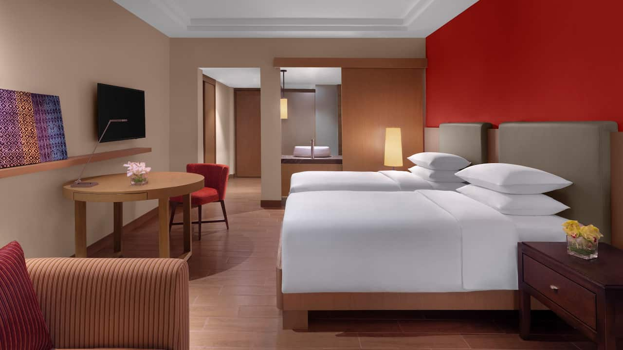 Hyatt Regency Kuantan Hotel Rooms 2 Twin Beds with Club Access