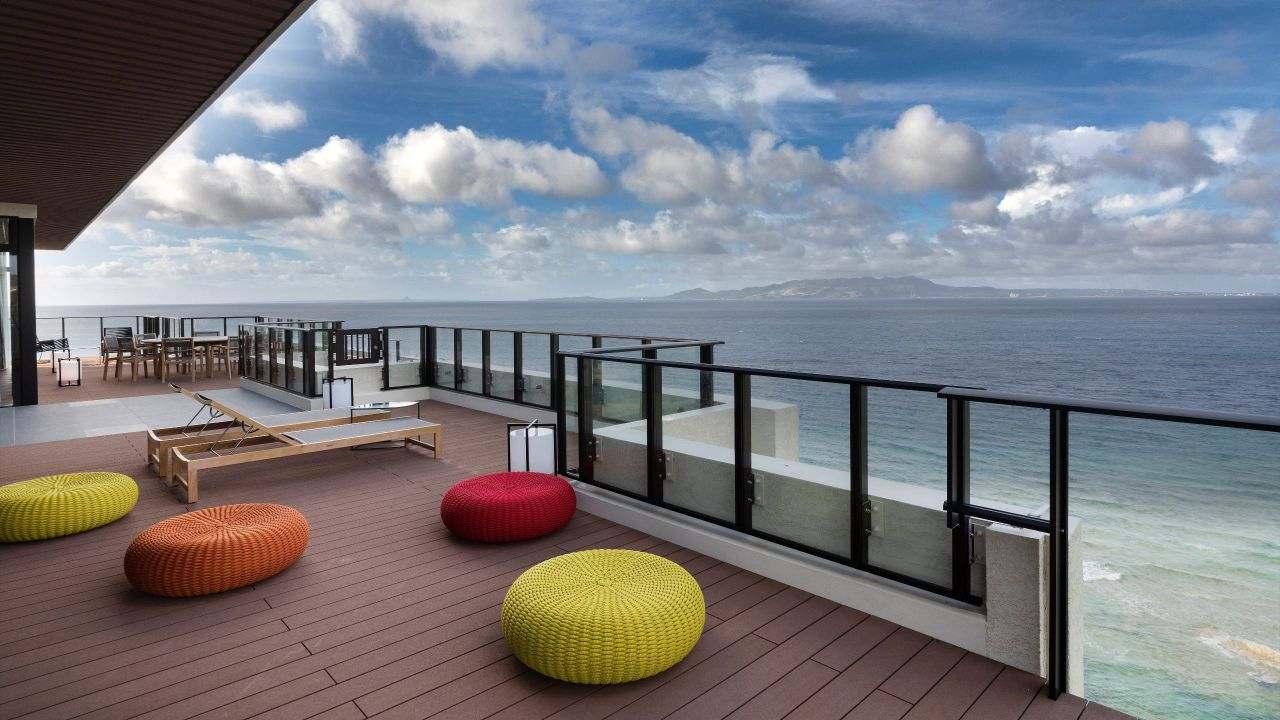 Seragaki Island Suite balcony