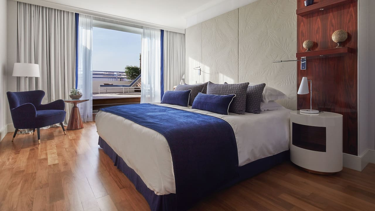 Junior Suite Sea View at Hotel Martinez Cannes by Hyatt