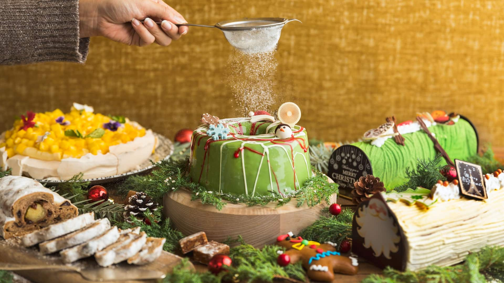 Festive at Alley on 25 All-day Dining Venue Restaurants Andaz Singapore