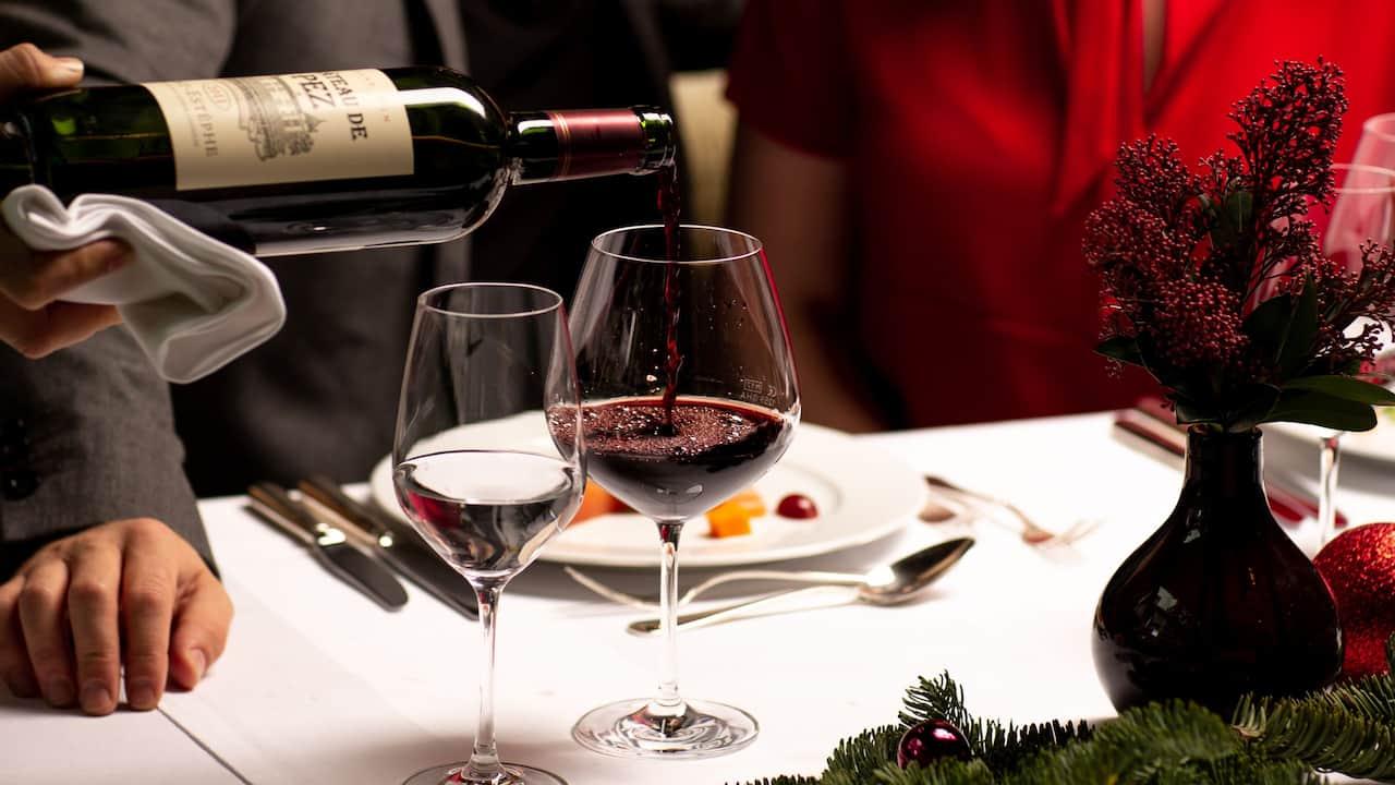 Weihnachten im parkhuus restaurant