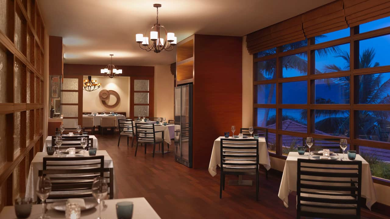 Italian Bistro Indoor Seating