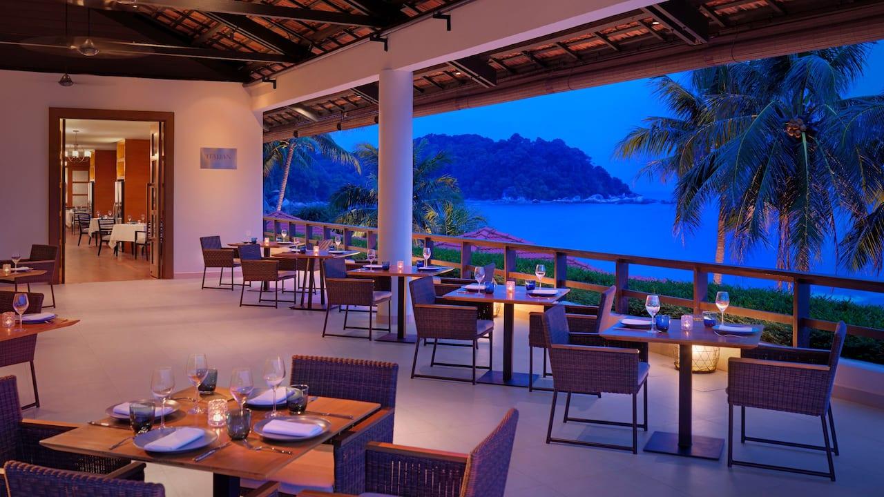 Italian Bistro (Alfresco Dining) Hyatt Regency Kuantan, Malaysia