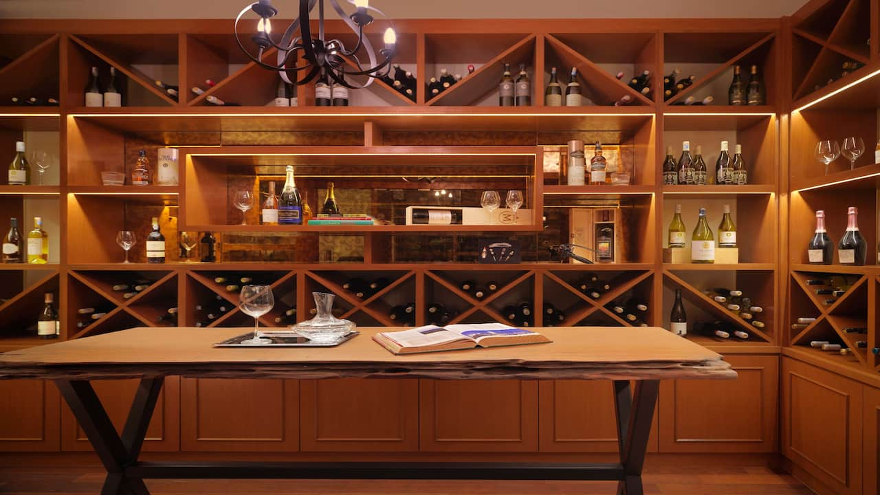 Italian Bistro (Wine Cellar) at Hyatt Regency Kuantan Malaysia