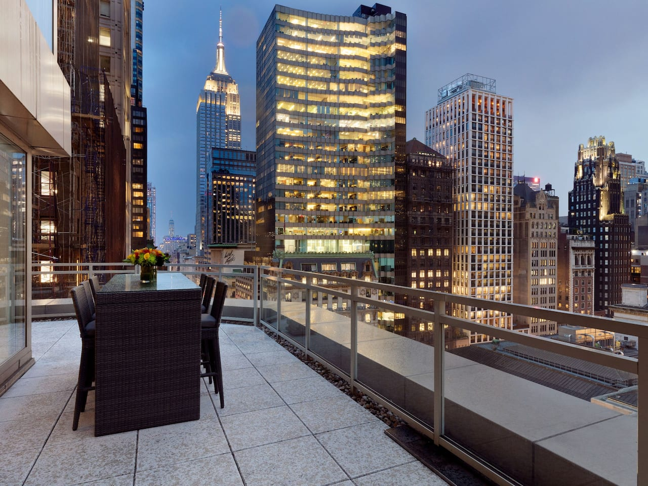 Suite Terrace Andaz 5th Avenue