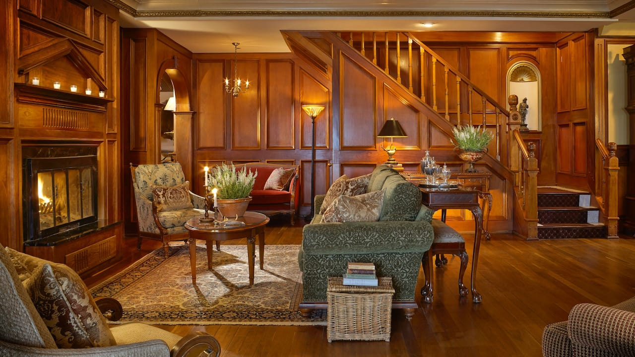 Living Room Main House