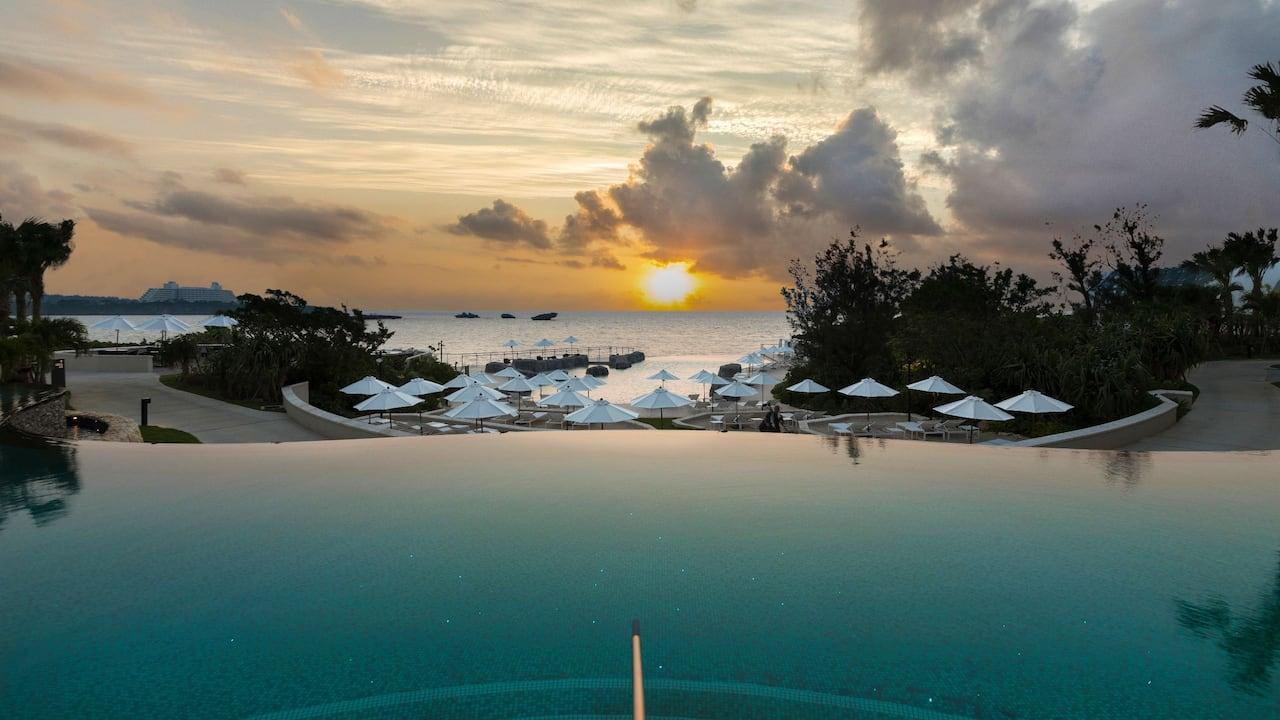 ハイアットリージェンシー瀬良垣アイランド沖縄 プール