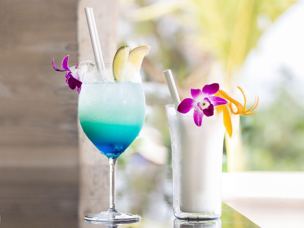 Pool Bar Cocktails